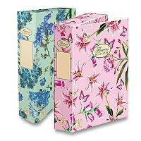 Kartonový box s gumou Pigna Nature Flowers
