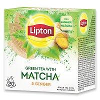 Zelelný čaj Lipton Green Matcha Ginger