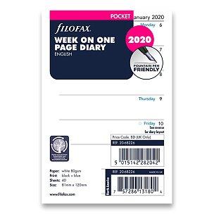 Týdenní kalendář 2020, Aj