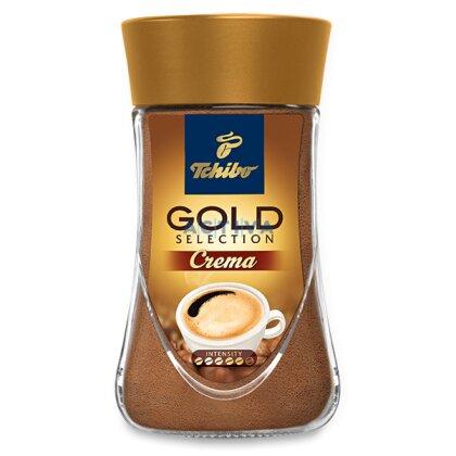 Obrázek produktu Tchibo Gold Selection Crema - instantní káva - 180 g