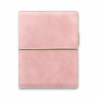 Obrázek produktu Kapesní diář Filofax Domino Soft A7 - pastelově růžová