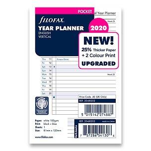 Roční plánovací kalendář 2020, Aj