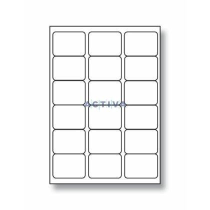 Obrázek produktu SK Label - samolepicí etikety - 68×47 mm, 1800 etiket, na listovní zásilky
