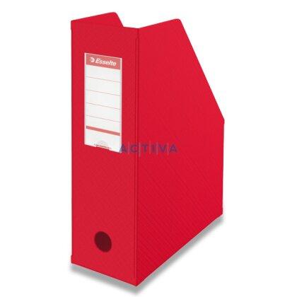 Obrázek produktu Esselte Vivida - plastový stojan na katalogy - červený