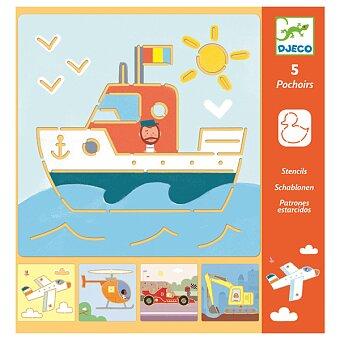 Obrázek produktu Šablony Djeco - Doprava