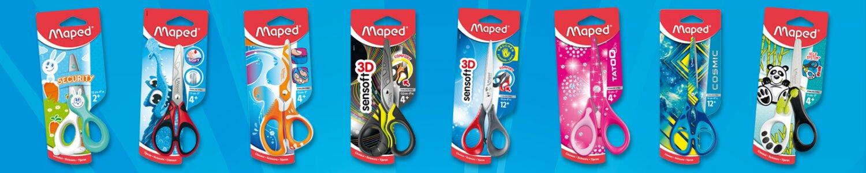 Nůžky Maped vyhoví nejvyšším nárokům ergonomii, bezpečnost i design
