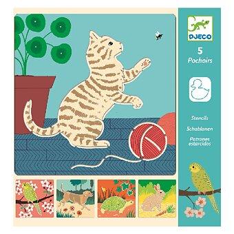 Obrázek produktu Šablony Djeco - Roztomilá zvířátka