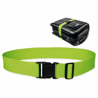 Obrázek produktu NEO - textilní popruh na kufr, reflexní zelená