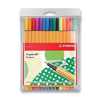 Obrázek produktu Liner Stabilo Point 88 - sada 15 barev