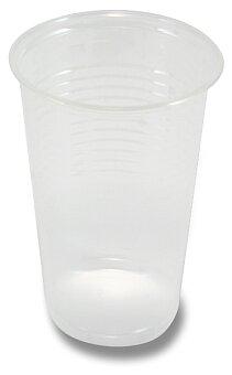 Obrázek produktu Průhledné plastové kelímky - objem 0,2 l, 100 ks
