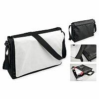 SUBLIBAG - polyesterová taška přes rameno, 600D, černá