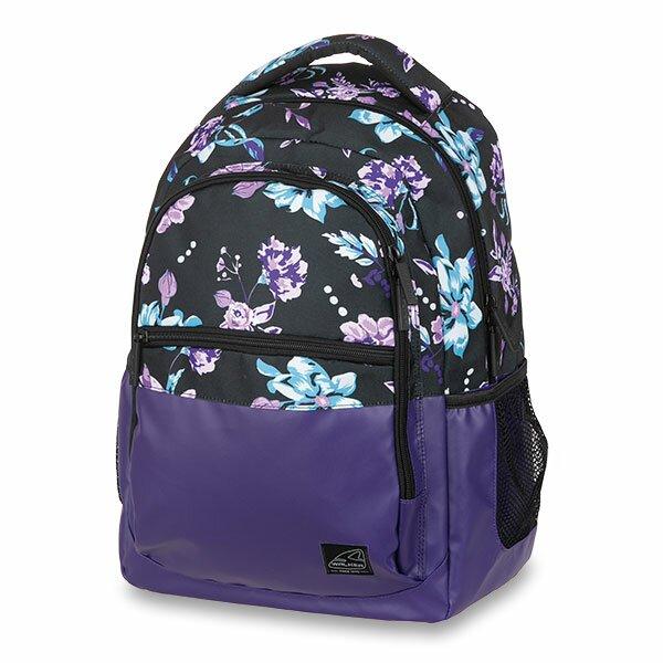 Školní batoh Walker Base Classic Flower Violet