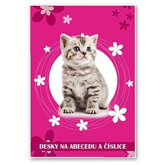 Obrázek produktu Desky na abecedu i na číslice Kočka