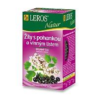 Bylinný čaj Leros Natur Žíly s pohankou a vinným listem