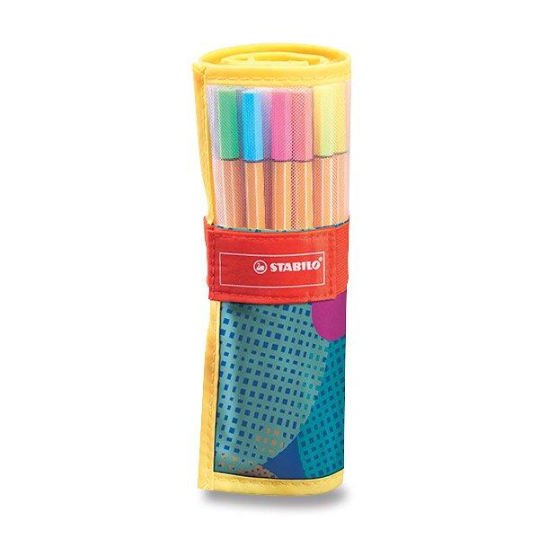 Liner Stabilo Point 88 Rollerset Individual sada 25 barev