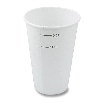 Obrázek produktu Papírové kelímky - objem 0,30 l, 50 ks