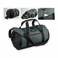 SWISSBAGS FALLON - polyesterová cestovní taška, 600D, černá