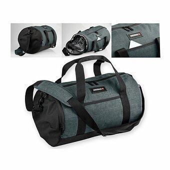 Obrázek produktu SWISSBAGS FALLON - polyesterová cestovní taška, 600D, černá