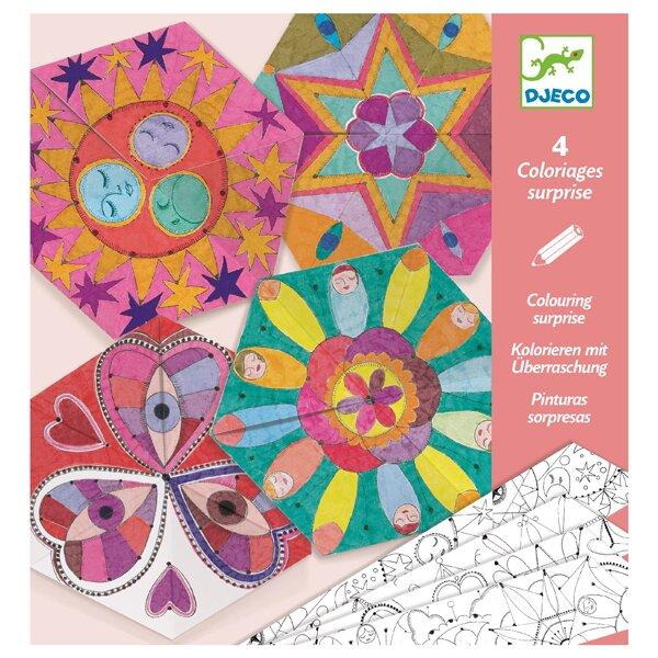 Origami skládačka Djeco Hvězdné mandaly