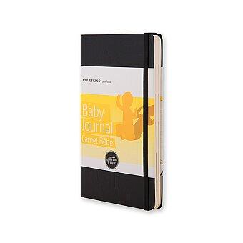Obrázek produktu Zápisník Moleskine Passions Baby Journal - tvrdé desky - L, černý