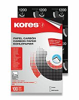 Uhlový papír Kores Carbonet - černý