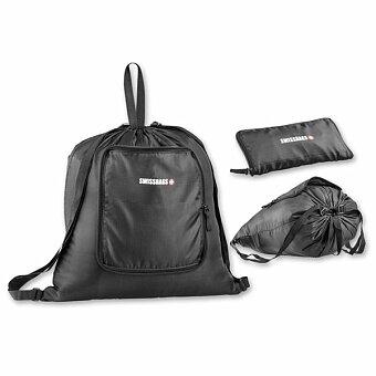 Obrázek produktu SWISSBAGS BRICE - skládací batoh, 210D RIPSTOP, černá