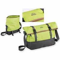 DERICK - polyesterová taška přes rameno, 600D, světle zelená