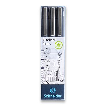 Obrázek produktu Liner Schneider Pictus - sada 3 ks
