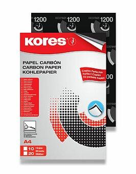 Obrázek produktu Uhlový papír Kores Carbon - A4, výběr balení