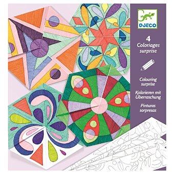 Obrázek produktu Origami skládačka Djeco - Růžicové mandaly
