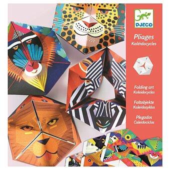 Obrázek produktu Kreativní sada Djeco - Kaleidocycle Flexanimals