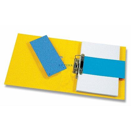 Obrázok produktu HIT - papierový rozlišovač - 105 x 240 mm, modrý