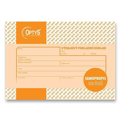 Obrázek produktu Optys - výdajový pokladní doklad