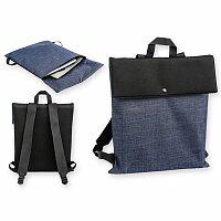 HAZEL - polyesterový batoh, 600D/neopren, tmavě modrá