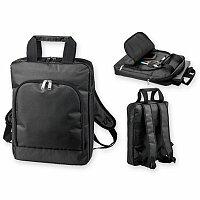 ROCCO - polyesterový batoh na notebook, 840D, černá