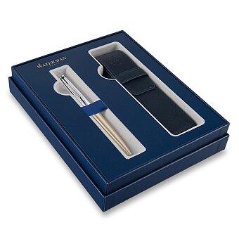 Obrázek produktu Waterman Emblème Deluxe Gold CT - kuličková tužka, dárková sada s pouzdrem