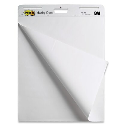 Obrázek produktu 3M Post-it Meeting Charts 559 - samolepicí flipchart - 635 × 762 mm, 30 listů