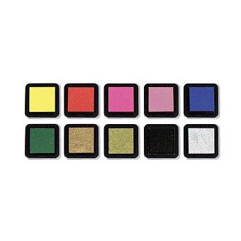 Obrázek produktu Razítkové barevné polštářky - základní barvy