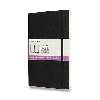 Obrázek produktu Zápisník Moleskine - měkké desky - L, linkovaný-čistý, výběr barev