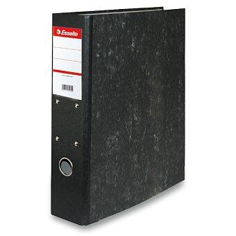 Obrázek produktu Pořadač pro závěsné rychlovazače Esselte Mramor - A4, 70 mm, černý
