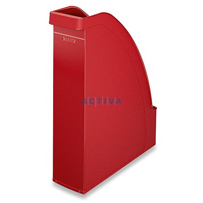 Obrázek produktu Leitz Plus - plastový stojan na katalogy - červený