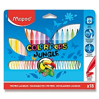 Dětské fixy Maped Color'Peps Jungle
