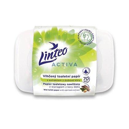 Obrázek produktu Linteo Satin - vlhčený toaletní papír - v dóze, 70 ks