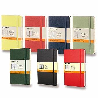 Obrázek produktu Zápisník Moleskine - tvrdé desky - S, linkovaný, výběr barev