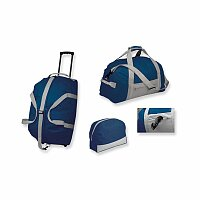 PACK SET - sada cestovních tašek z polyesteru, 600D