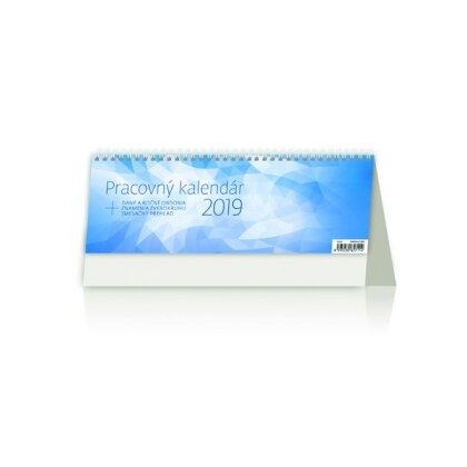 Obrázok produktu Pracovný kalendár 2019 - stolový bezobrázkový kalendár
