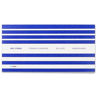 Obrázek produktu Týdenní plánovač Bobo nedatovaný - DL, 11 x 22 cm