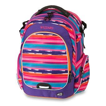 Obrázek produktu Školní batoh Walker Campus Wizzard Purple Streak