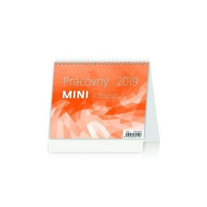 Obrázok produktu Pracovný MINI 2019 - stolový bezobrázkový kalendár
