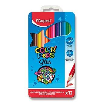Obrázek produktu Pastelky Maped Color'Peps Metal Box - 12 barev